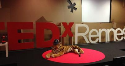 Tigrou à TEDx en 2014