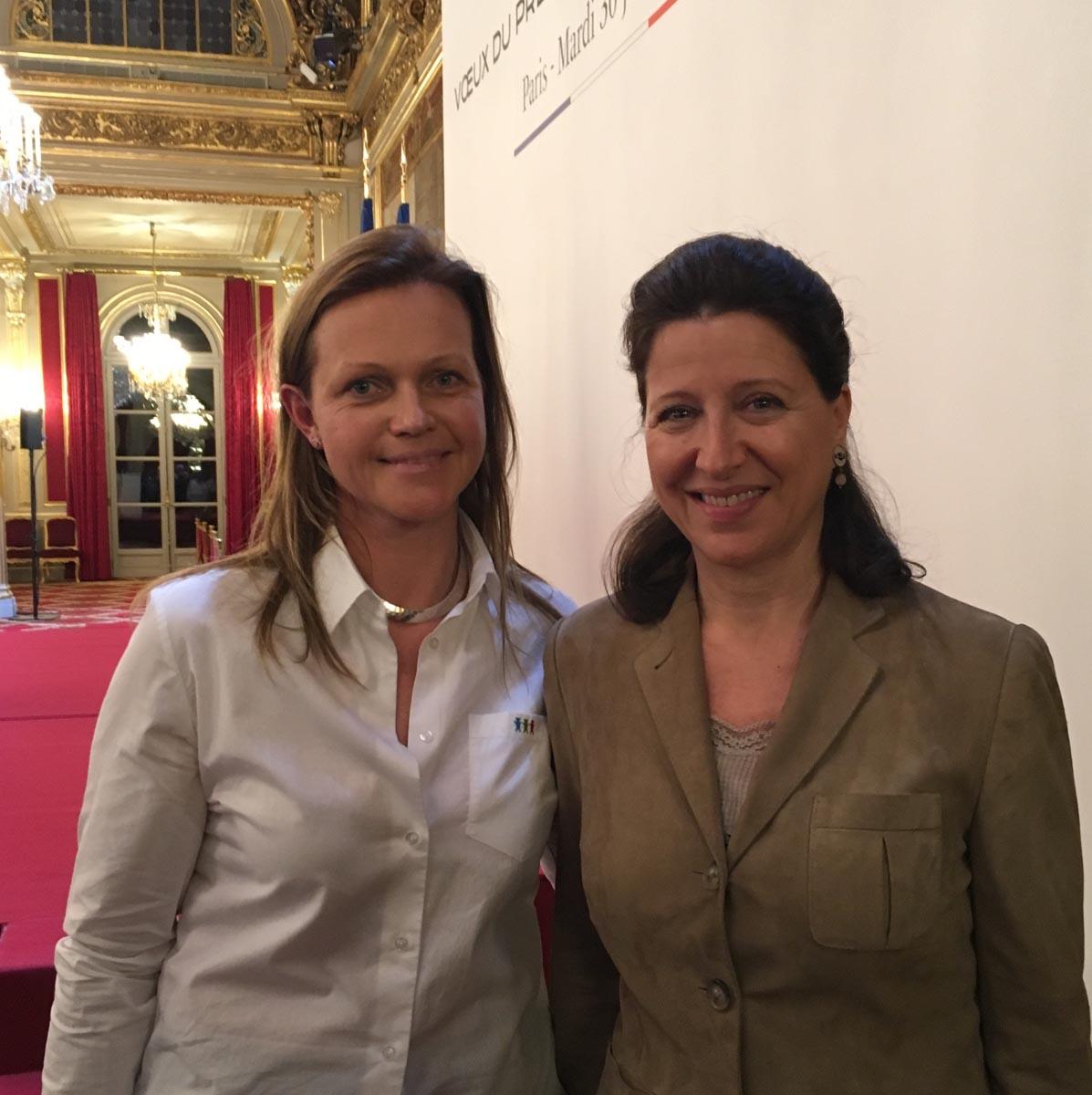Agnès Buzyn Ministre de la Santé - Elysée - 31 janvier 2018