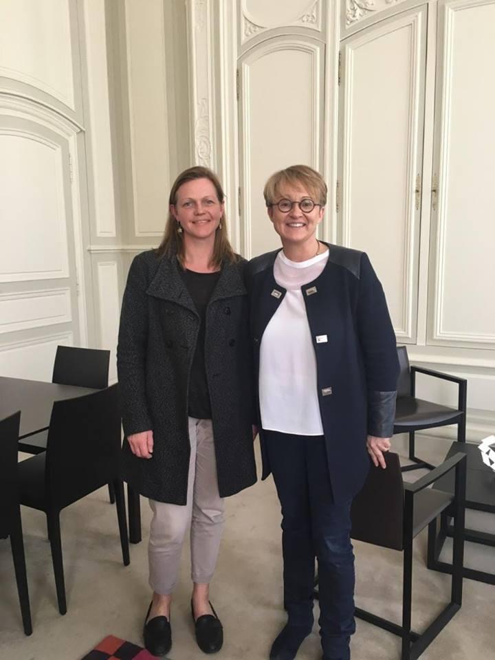 Mme Appéré, maire de Rennes - 13 avril 2018