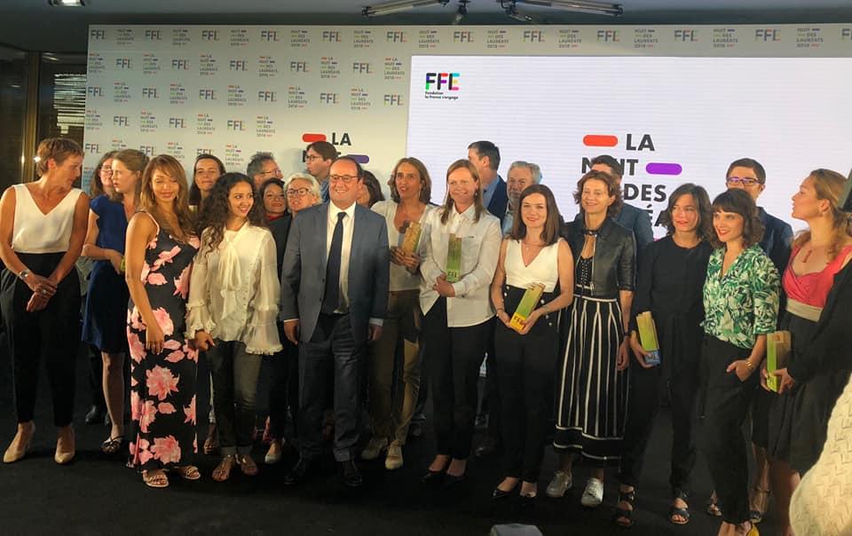 Les Laureats FFE2018