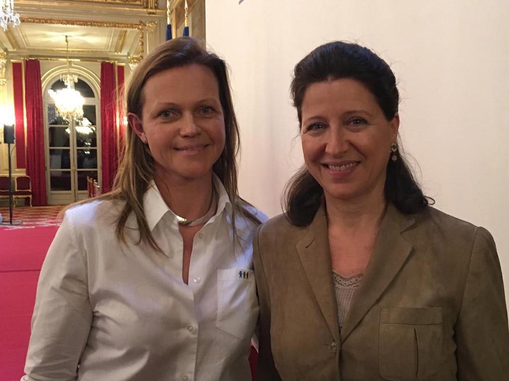 Agnès Buzyn, Ministre des Solidarités et de la santé - Voeux Elysée 2018