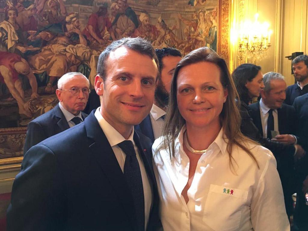 Emmanuel Macron-Voeux Elysée 2018