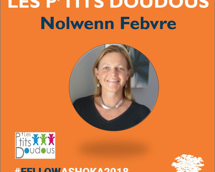Nolwenn Febvre intègre Ashoka, le réseau mondial des entrepreneurs sociaux