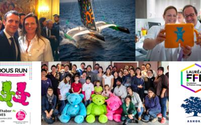 2018 : retour sur une année d'engagement exceptionnel