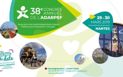 Les P'tits Doudous au 38e congrès de l'ADARPEF